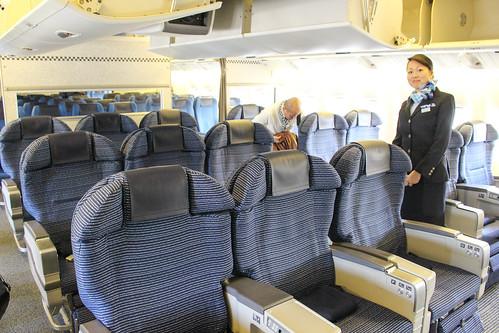 777-300の旧シートでした