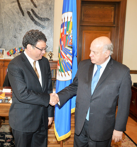 OAS Secretary General Met with the new President of the Inter-American Court of Human Rights