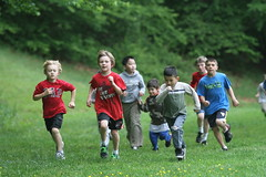 Boys Running the Mile at N Springfield Elementary (VA)