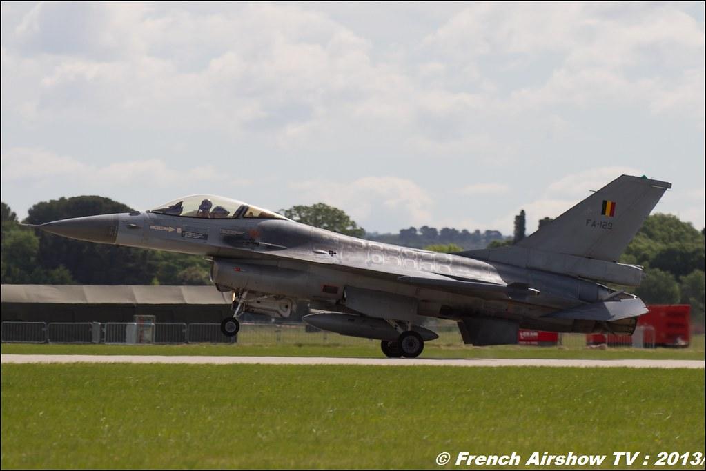 F-16 Solo Display belge au 60 ans PAF