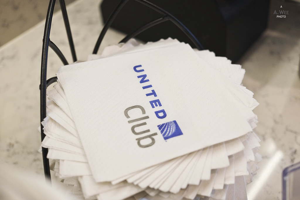 United Club napkins