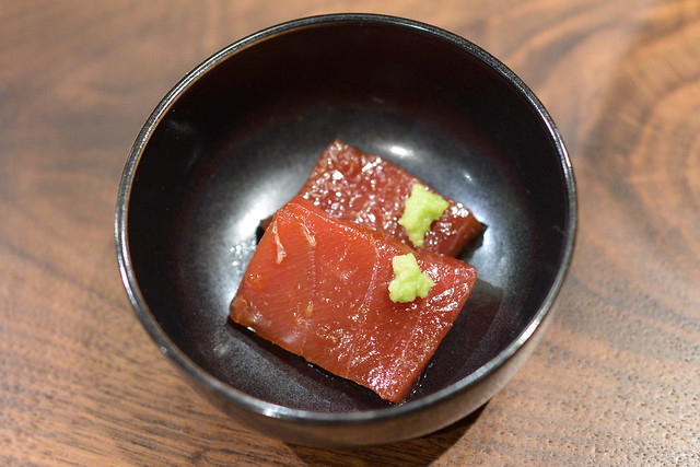 Soy Cured Bluefin Tuna