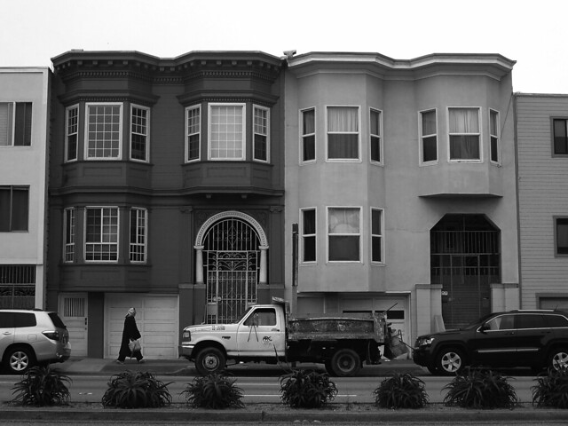 19th Avenue between Irving and Lincoln; The Sunset, San Francisco (2014)