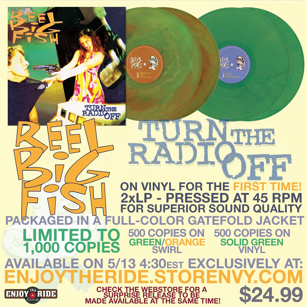 Po Reel Big Fish Turn The Radio Off 2xlp Via Etr On Sale