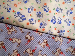 Round 2 - blue kitties and elephants 28 5x10 of each
