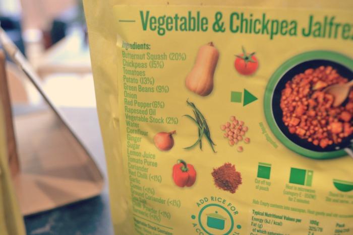 ilumi vegetable and chickpea jalfrezi