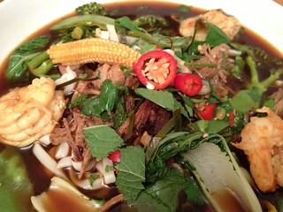 Vietnamese Pho : Close Up