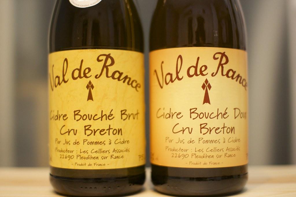 Val de Rance Cidre Bouché Brut Cru Breton(Doux Cru Breton)