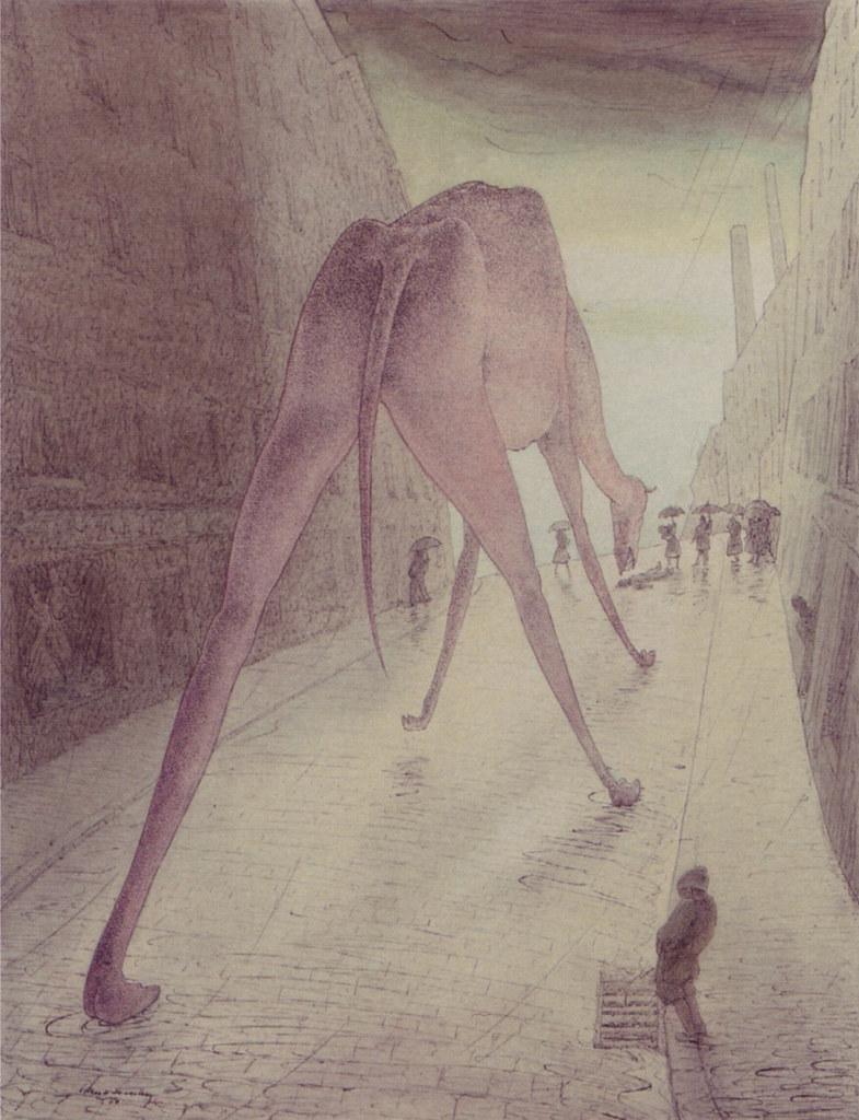 Walter Schnackenberg - The curious dinosaur (1950)