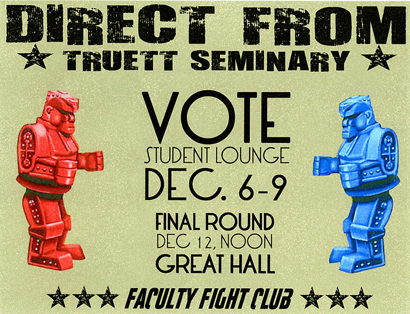 Truett Seminary Faculty Competition Advertisement