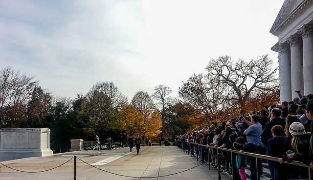 Changing of the Guards at Arlington