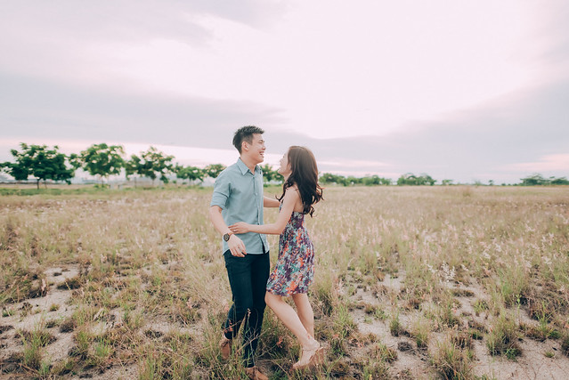 Lovescapade, Multifolds, pre wedding, Kacey Teh Makeup, love, field