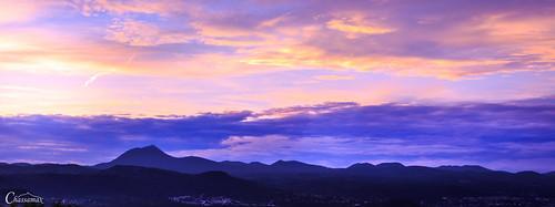 sunset panorama france canon de landscape soleil paysage puy auvergne coucherdesoleil couché puydedôme 6d chassamax