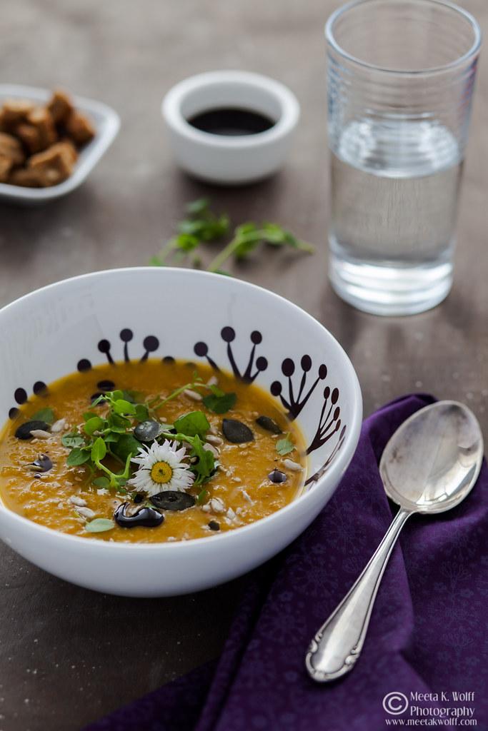 Pumpkin Persimmon Soup (0032)