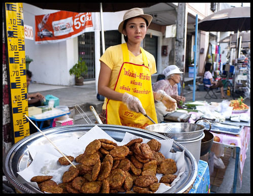 Spicy fishcakes for sale