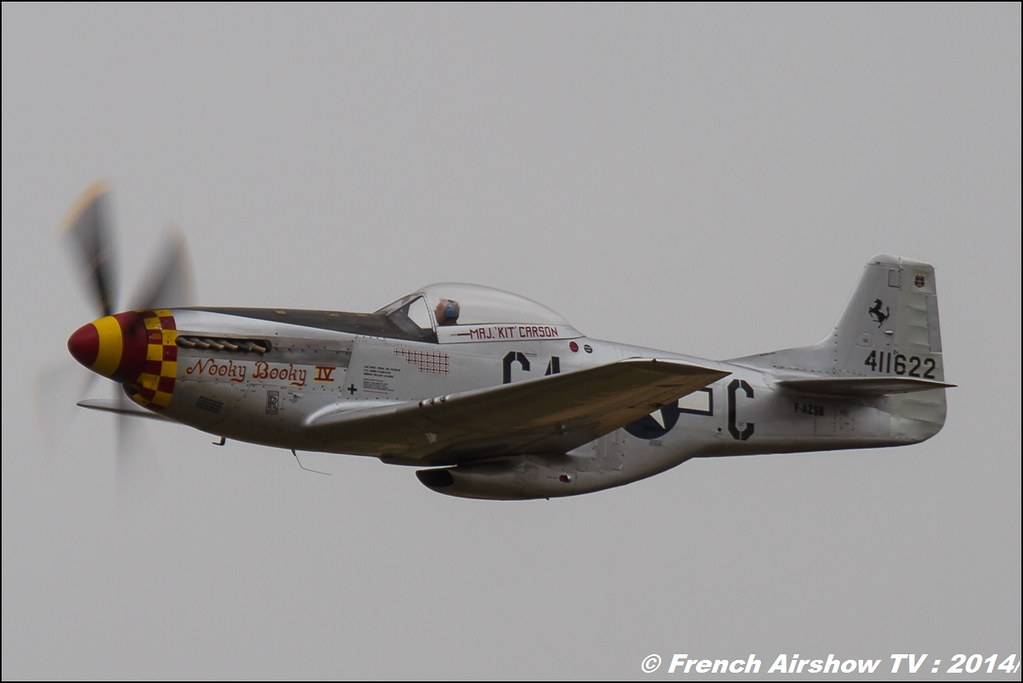 P-51 F-AZSB, Meeting Aerien BA-133 Nancy Ochey 2014