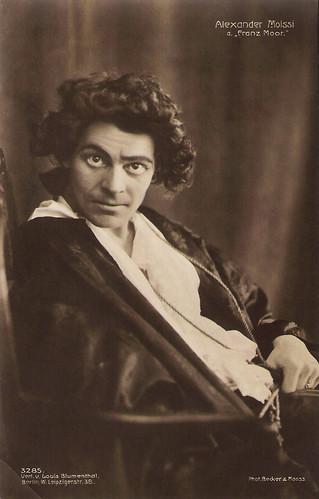 Alexander Moissi as Franz Moor in Die Räuber