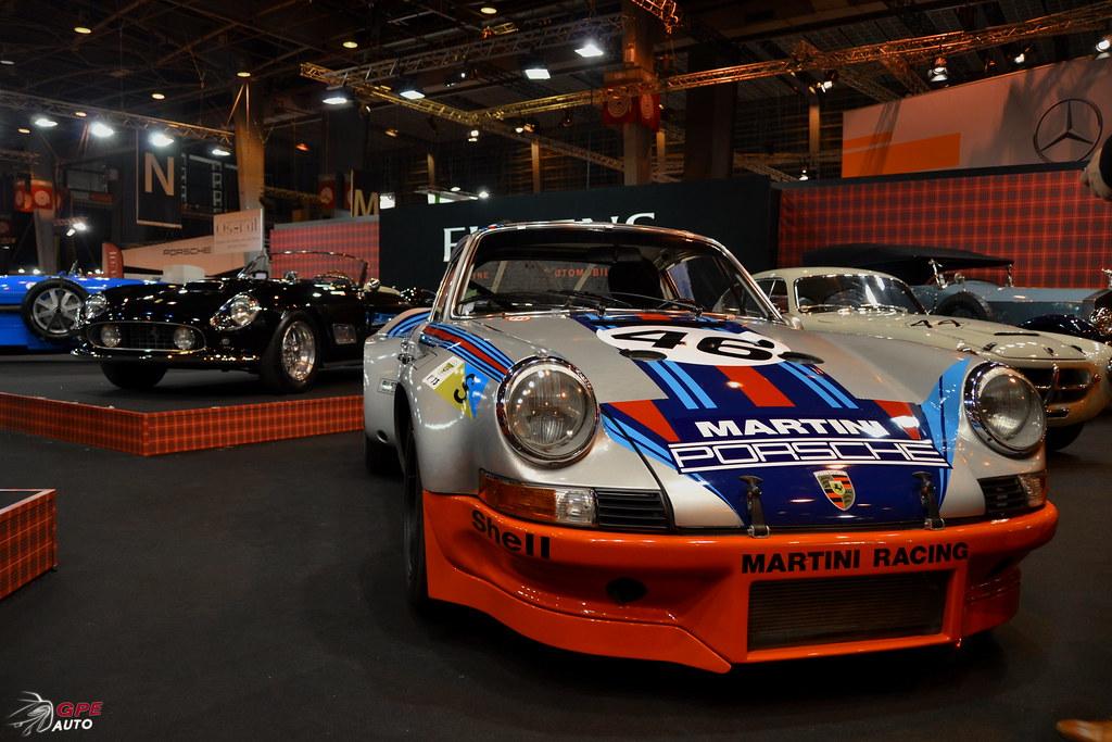 Porsche 911 RSR turbo et une Ferrari 250 California
