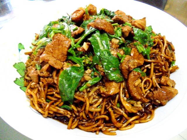Foochow-style fried noodles