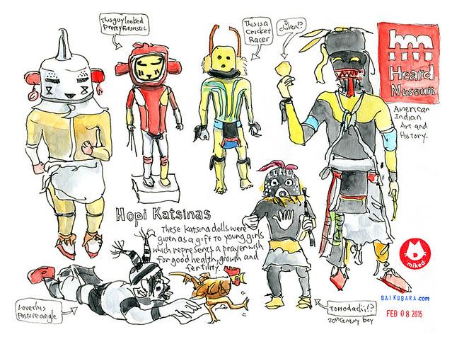 Hopi Katsinas @ Heard Museum