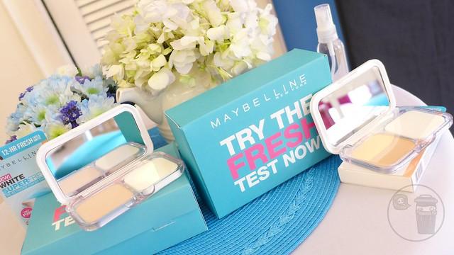 maybelline white super fresh launch
