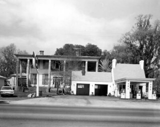 Ante bellum home behind the Pure Service Station - Madison
