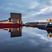 Albert Dock reflections by blue fin art- 1.8 Million Views. Thank You!