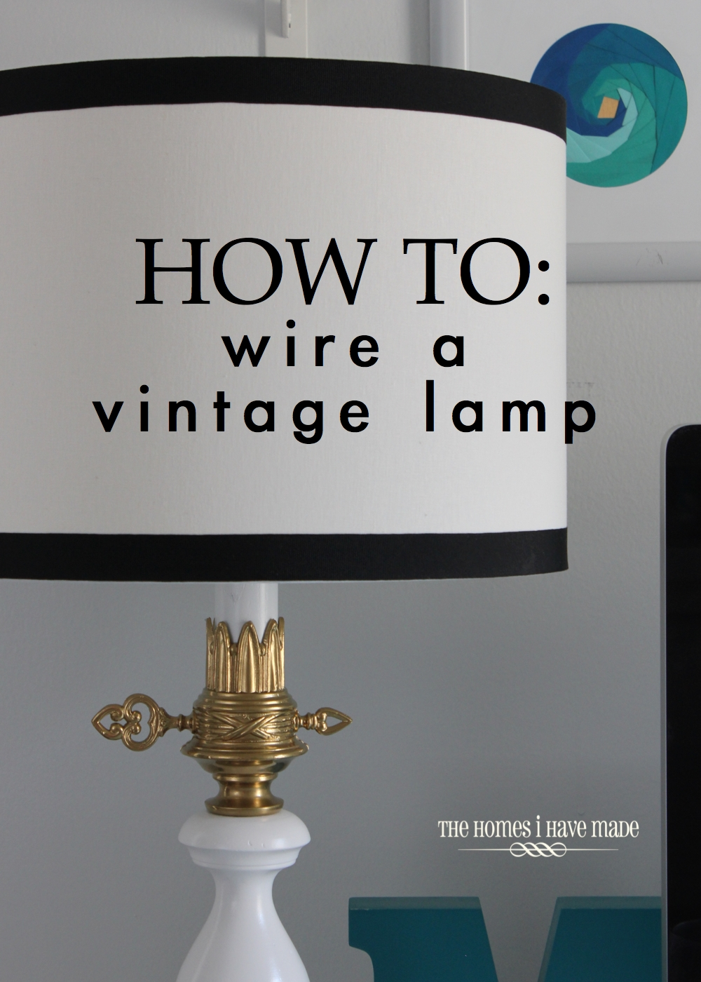 Treasures From The Basement Vintage Lamps Makeover Including How Diy To Rewire An Old Lamp 019