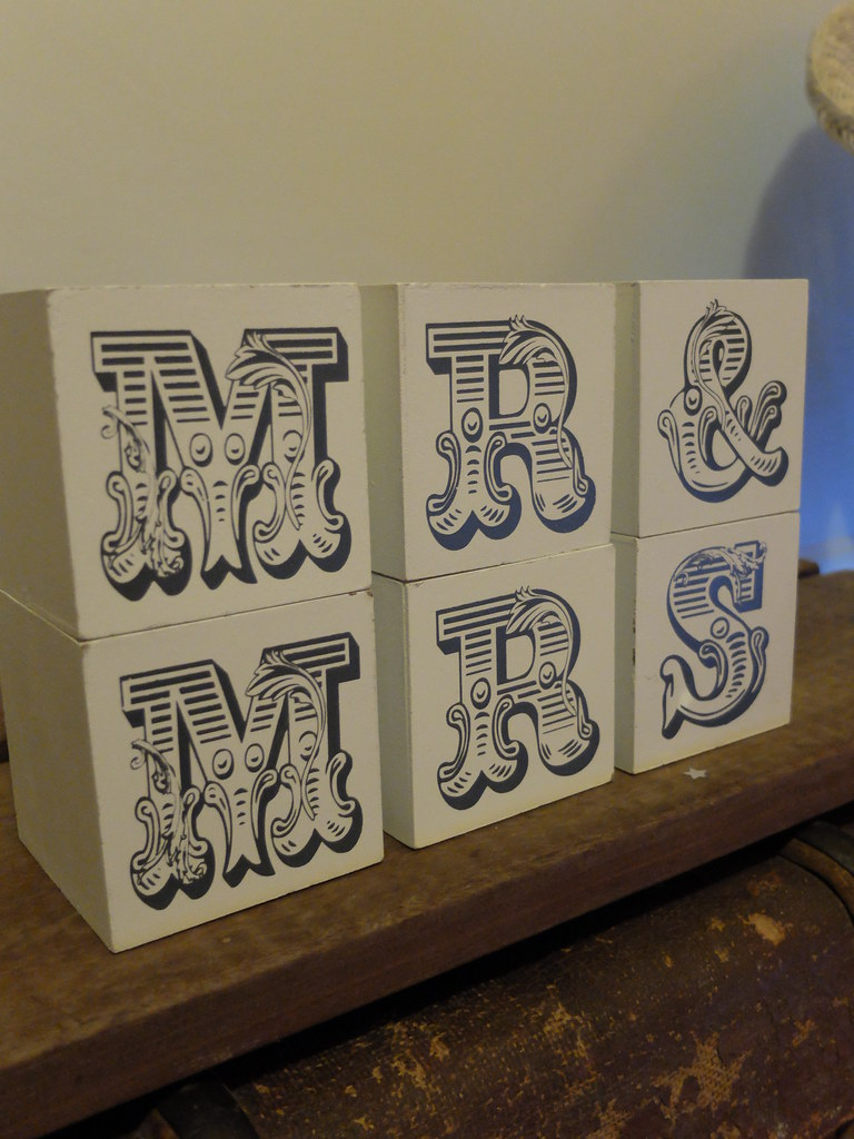 mr and mrs blocks