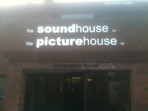 The soundhouse ltd Signage