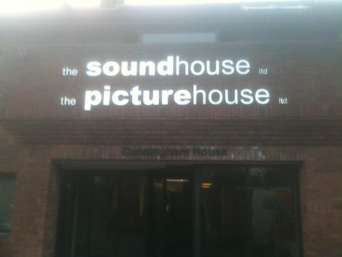 The soundhouse ltd Signage
