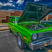 Lime Green and Full of Muscle_3110