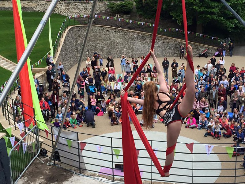 Wharton Park, Durham © Let's Circus