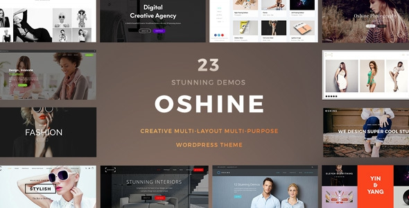 Oshine v4.3.1 - Creative Multi-Purpose WordPress Theme