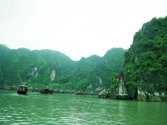 Fishermen's village.
