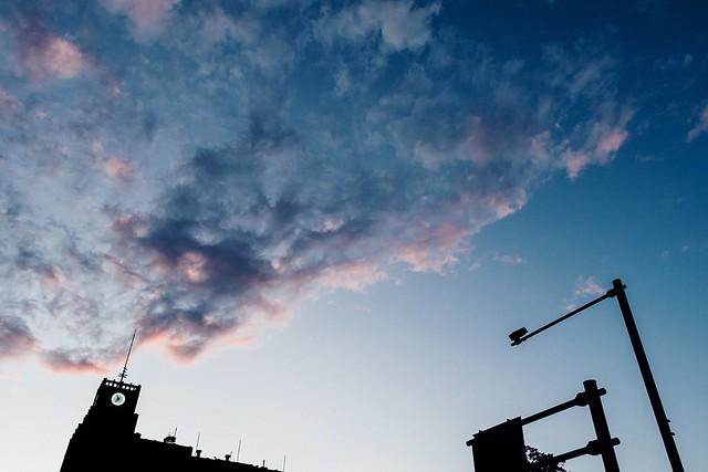 Sunset Sunset Sky Sunset Sky And Clouds Sunset Sky Colorful Sunset Sky Nature Clouds And Sky Red Clouds/dark Clouds Red Clouds Clock Tower Tower Hibiya Park Tokyo Tokyo,Japan Sony Sony Rx100 M3 Rx100m3 日比谷公園 夕空 東京