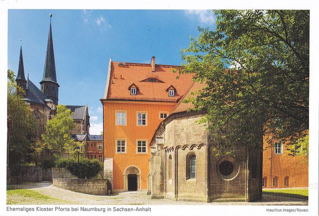 Germany - Ehemalies Kloster Pforta bei Naumburg in Sachsen-Anhalt