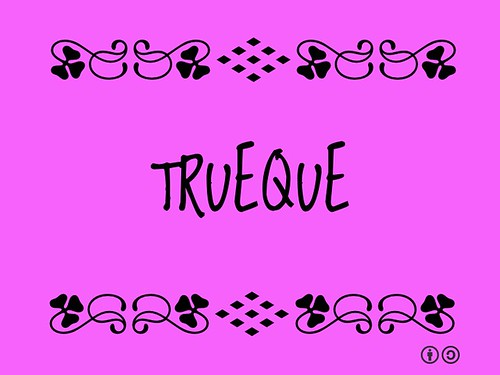 Buzzword Bingo: Trueque = Trade