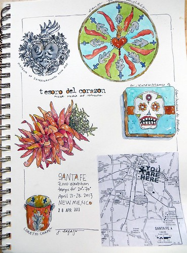 from my sketchbook ~ Santa Fe