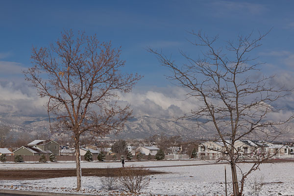 May First Snow in Colorado Springs