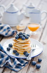 Blueberry pancakes (365)