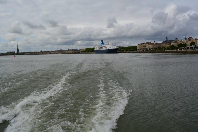 Accostage du paquebot MS QUEST FOR ADVENTURE - Saga Cruises - Bordeaux - 11 mai 2013