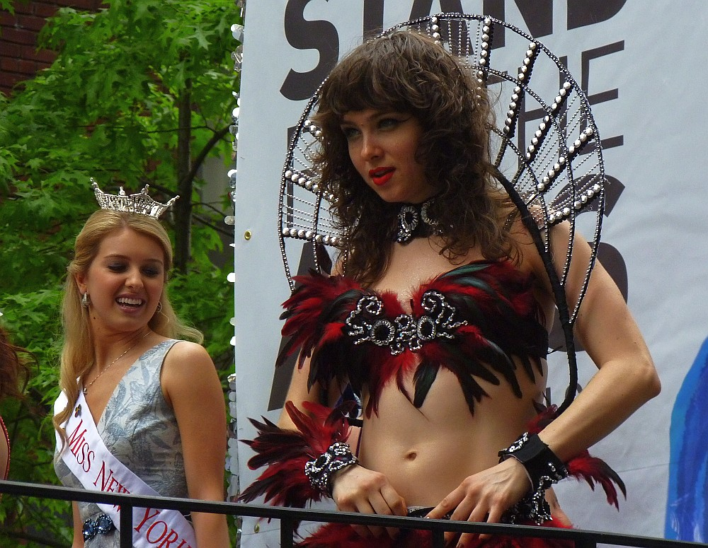 Miss NY and Feathers