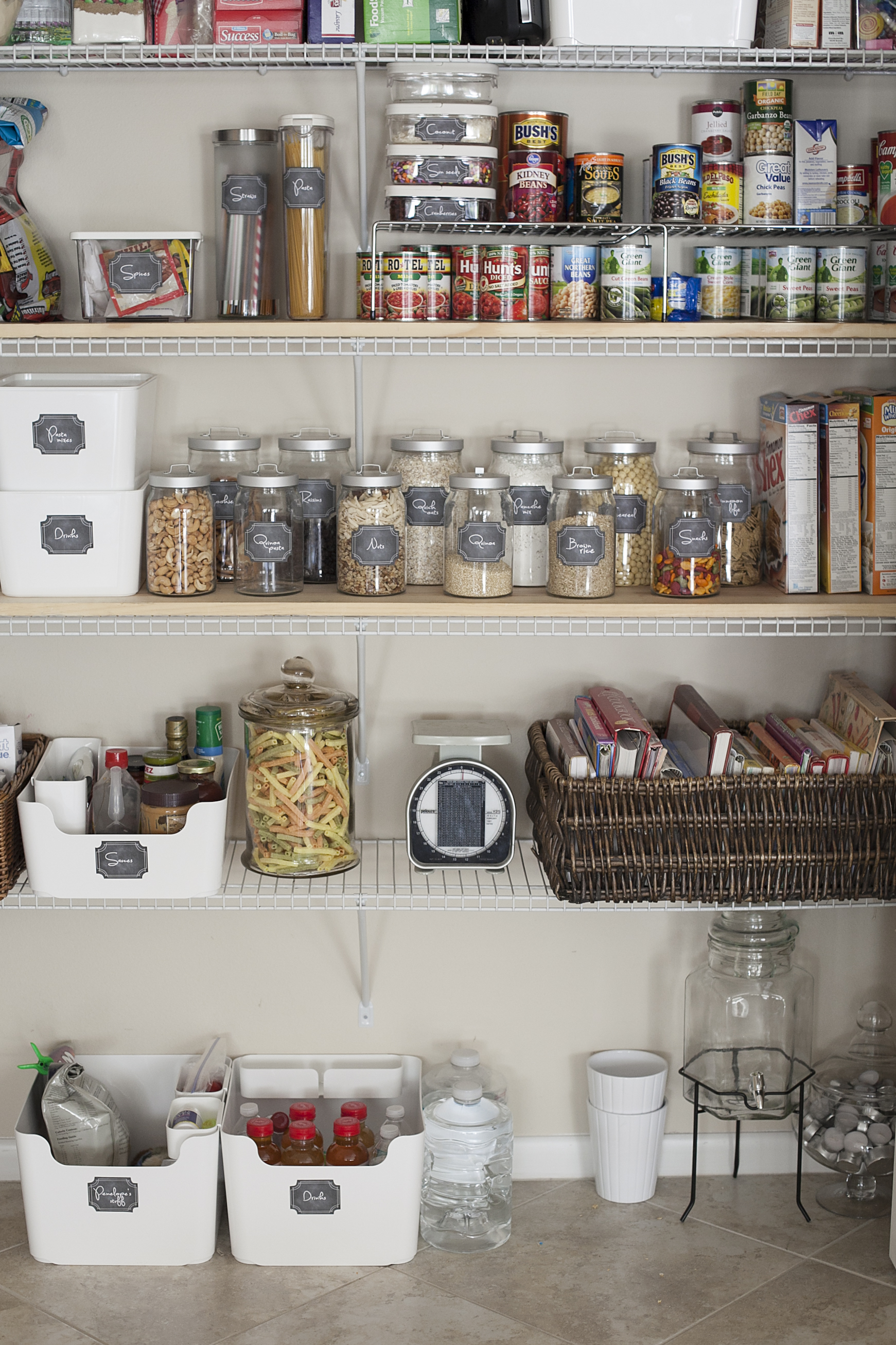 Kitchen pantry organization and free printables fresh - Labels for kitchen cabinets ...