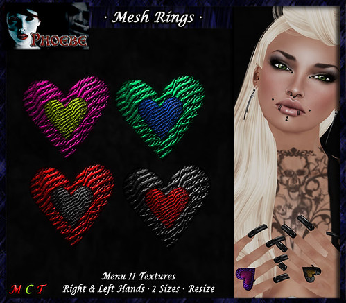 *P* Mesh Passion Rings 2 ~11 Textures~