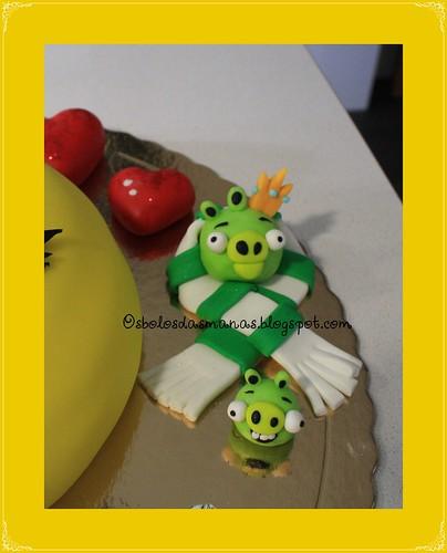 Detalhe Bolo Pretty Bird II by Osbolosdasmanas