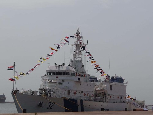 COMMISSIONING OF OFFSHORE PATROL VESSEL (OPV) by Chindits