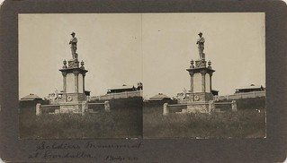 Soldier's monument at Cordalba, in the Bundaberg district, 1920