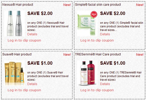 hair products coupons