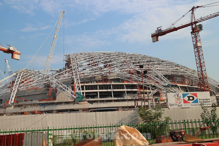 Singapore SportsHub Construction